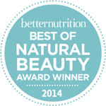 Better Nutrition Best of Natural Beauty Awards 2014