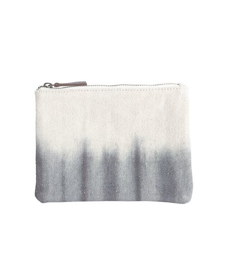 House Doctor Purse, Dip Dye, Grey