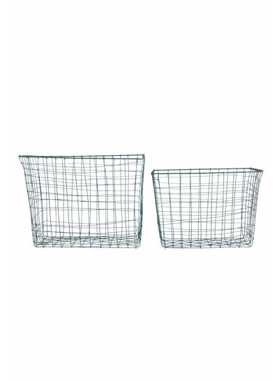 House Doctor Basket wire (set 2) - House Doctor