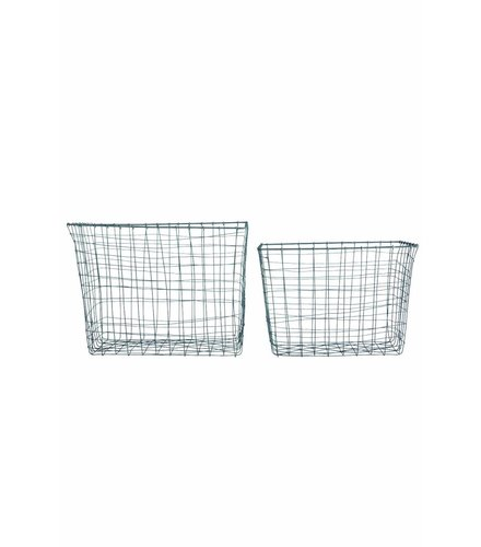 House Doctor Basket wire (set 2)
