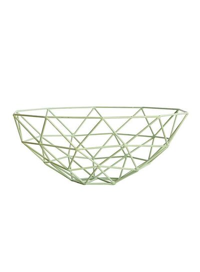House Doctor Triangle Bowl Mint