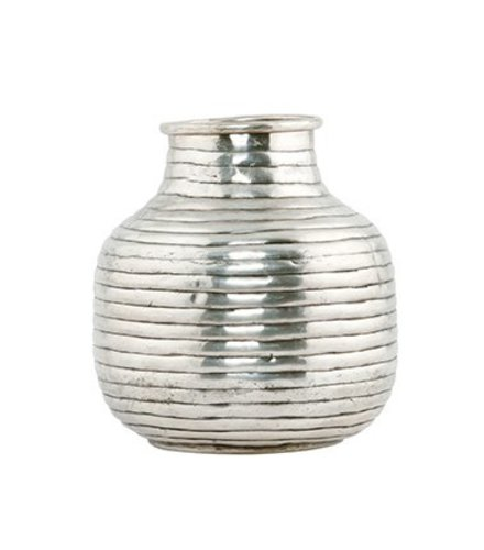 House Doctor Vase, Vertical, silver plated