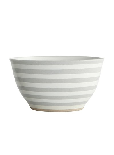 House Doctor Bowl stripe stone