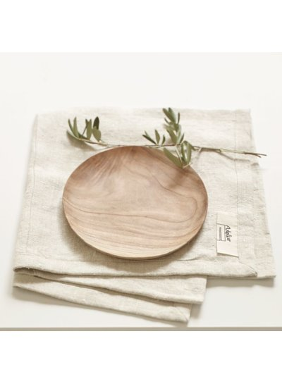 Atelier Sukha Plate Neem wood large