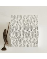 Atelier Sukha Box Vera feather print A5