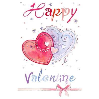 Carte de voeux 'Happy Valentine'