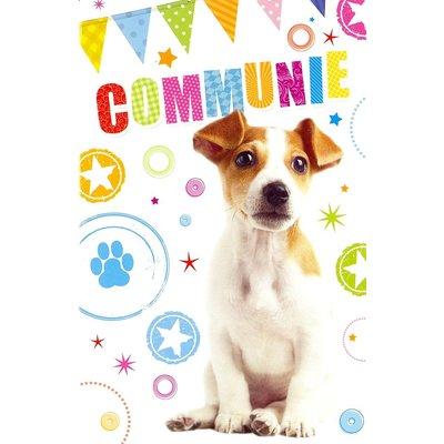 Grußkarte 'Communie'