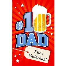 N°1 Dad (11x17cm)