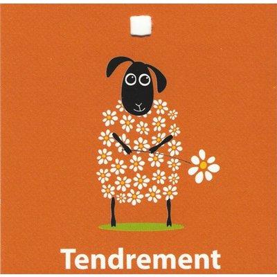 Greeting Card 'Tendrement'
