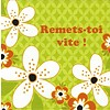 Greeting Card 'Remets-toi vite!'