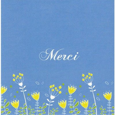 Greeting Card 'Merci'