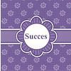 Grußkarte 'Succes'