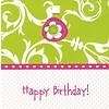 Grußkarte 'Happy Birthday!'