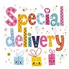 Greeting Card 'Special delivery'