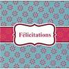 Grußkarte 'Félicitations'