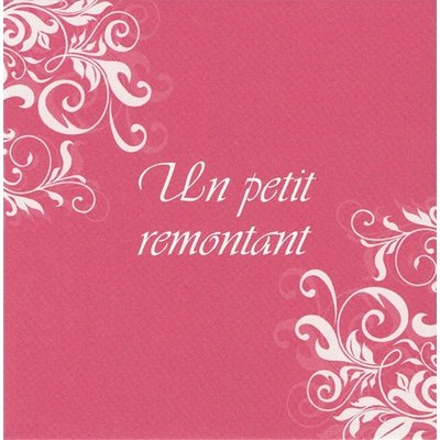 Greeting Card 'Un petit remontant'
