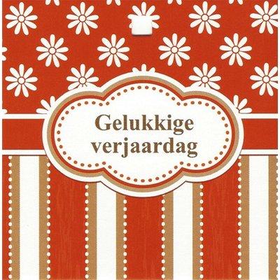 Greeting card 'Gelukkige verjaardag'