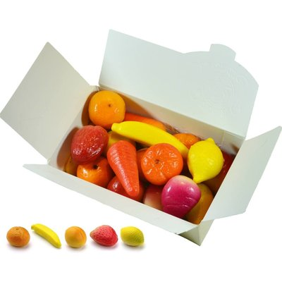 Leonidas Marsepein Fruitkorf 1kg