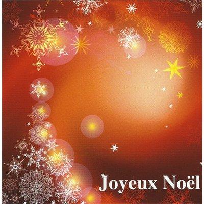 Wenskaart 'Joyeux Noel'