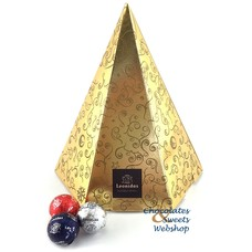 Leonidas Sapin de Noël doré (L) 56 boules de Noël