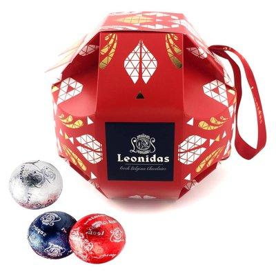 Leonidas Christmas ball with 80 Christmas balls