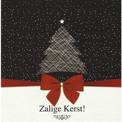 Wenskaart 'Zalige Kerst'