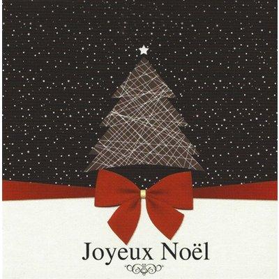 Grußkarte 'Joyeux Noël'