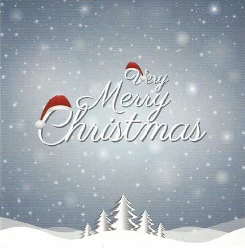 Grußkarte \'Merry Christmas\' - Leonidas Online Shop Gistel - Frische ...