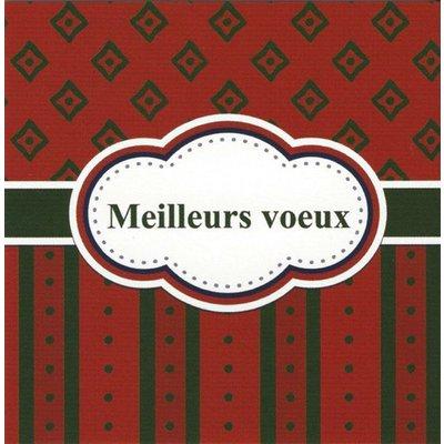 Grußkarte 'Meilleurs vœux'