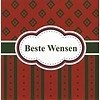 Greeting Card 'Beste wensen'
