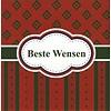 Grußkarte 'Beste wensen'