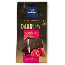 Leonidas Tablet Dark Raspberry 100g