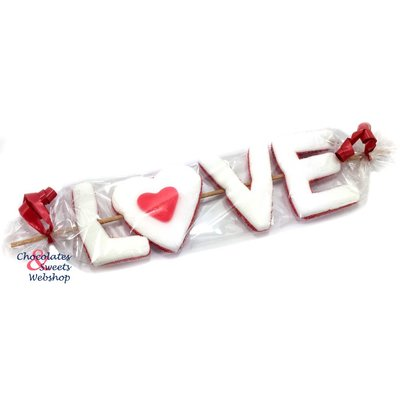 Candy stick LOVE