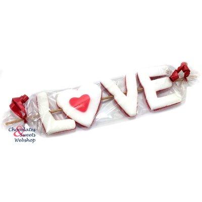 Süßigkeiten-Stick LOVE