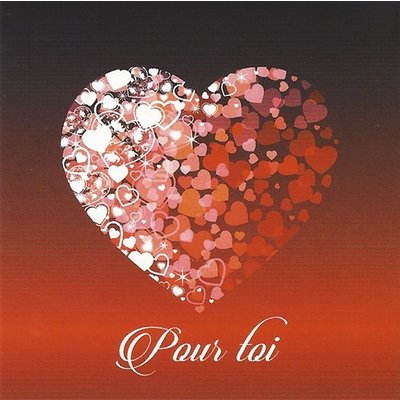 Carte de voeux 'Pour toi'