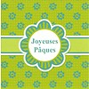 Carte de voeux 'Joyeuses Pâques'