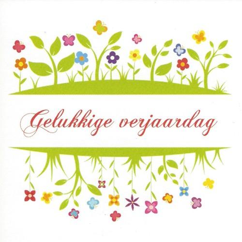 Greeting Card Gelukkige Verjaardag Leonidas Online Shop Gistel