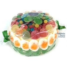 Süßigkeitentorte Kermit