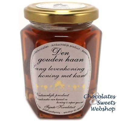 Le miel 'Longue vie' avec de cannelle 350g