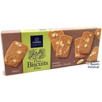 Leonidas Biscuits pur beurre aux amandes 100g