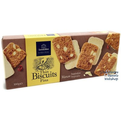 Leonidas Thin almond biscuits - Manon inspired 100g