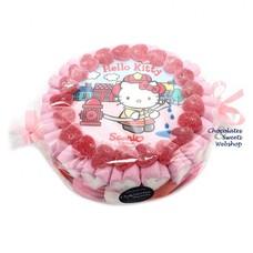 Süßigkeitentorte Hello Kitty (S)