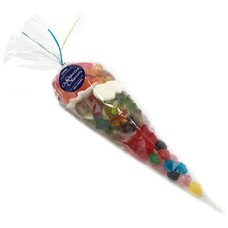 Cone bag oiled candy 300g