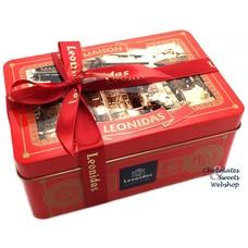 Leonidas Geschenkbox metall - Weihnachtskugeln 1,5kg