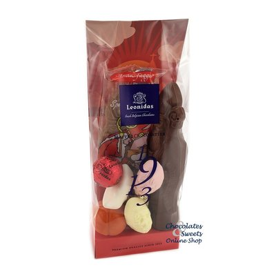 Leonidas St-Nicholas bag (S) milk + Speculaas