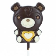 Leonidas Lollipop Bär dunkle
