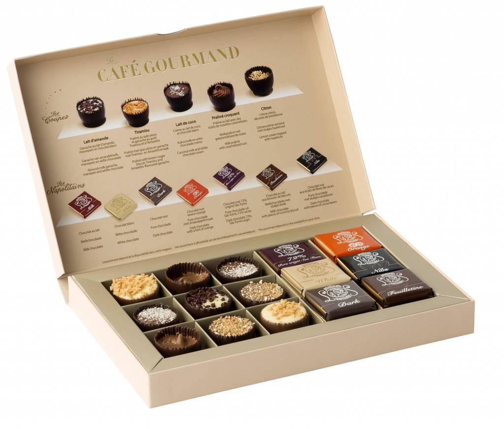Leonidas Cafe Gourmand box - Leonidas Online Shop Gistel - Fresh ...