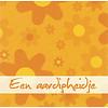Greeting card 'Een aardigheidje'