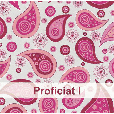 Greeting Card 'Proficiat'