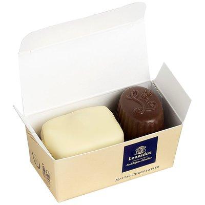Leonidas Mini-ballotin de 2 chocolats